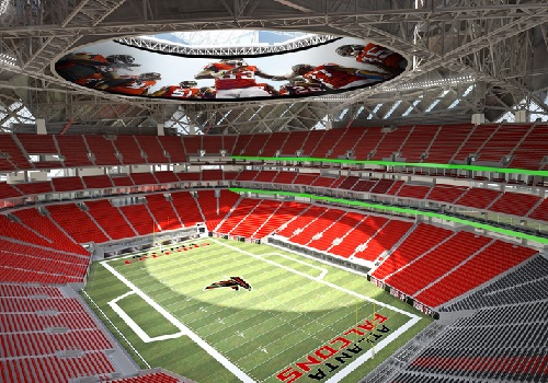 Super bowl stadiums stadiums of pro football for Mercedes benz of denver glendale co