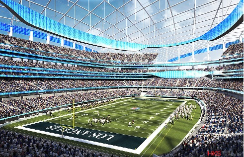 Future home of the Los Angeles Rams