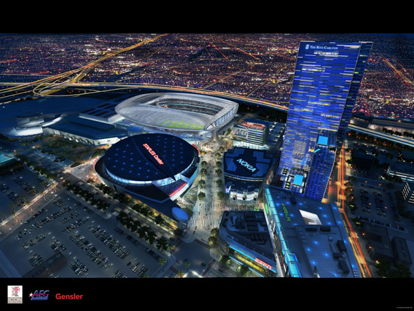 Los Angeles Nfl Stadium Information Renderings And More