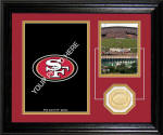 "San Francisco 49ers ""Fan Memories"" Desktop Photo Mint"
