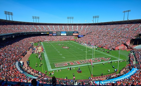 View from the upper deck at Candlestick Park - Picture: Mark Whitt
