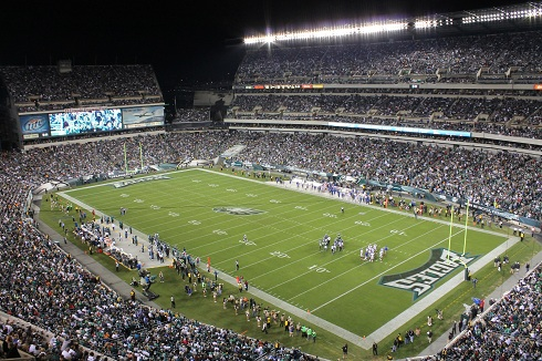 Lincoln Financial Field Philadelphia Eagles Football
