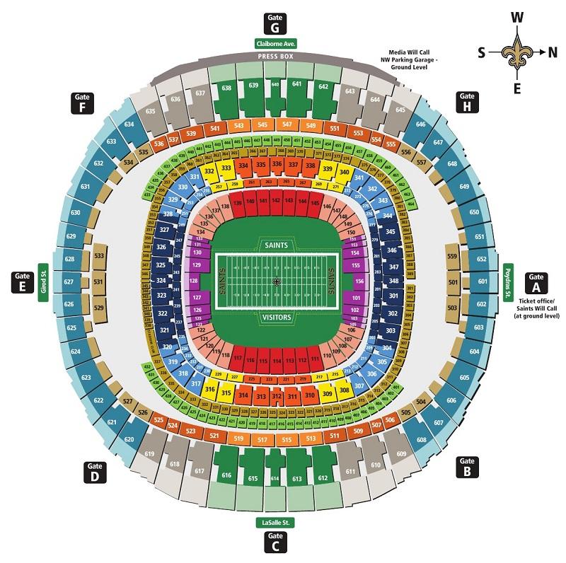 Mercedes benz stadium seat map cabinets matttroy for Mercedes benz stadium seat map